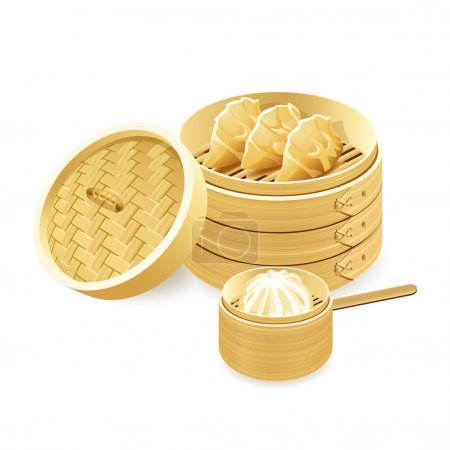 Bamboo steamers