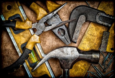 Old set of tools