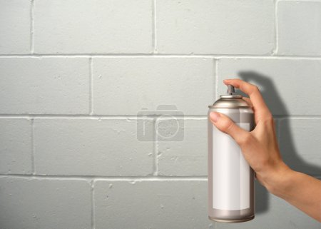 Wall spraying