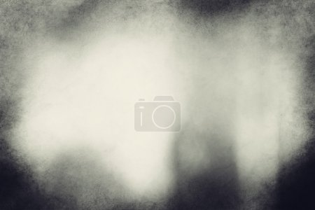 Photo for An eerie black and white grunge texture or background with space for text or image. - Royalty Free Image