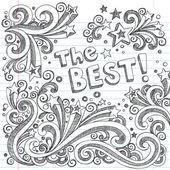 The Best Sketchy Doodles Design Elements Vector Set