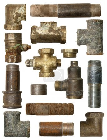 Pieces of pipe