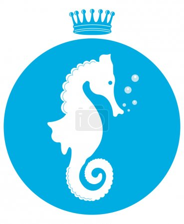 Illustration for Sea ​​horse - Royalty Free Image