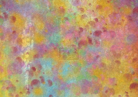 Grunge colorful texture walls