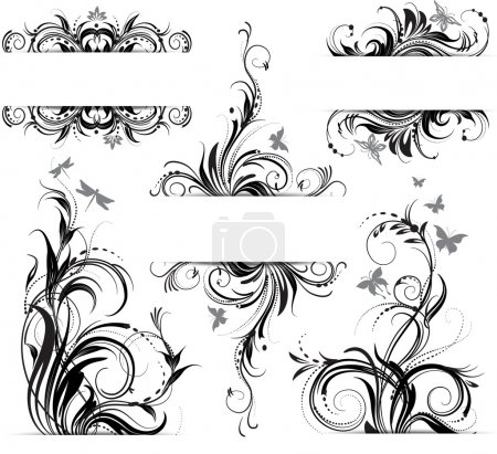Illustration for Floral ornament - Royalty Free Image