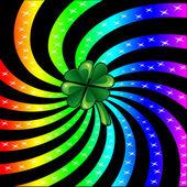 Rainbow Sparkle Shamrock