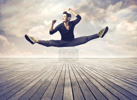 Skilled dancer