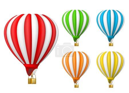 Illustration pour Ballon à air - image libre de droit