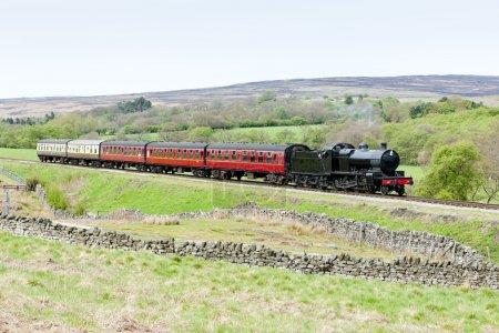 Steam train, North Yorkshire Moors Railway, England