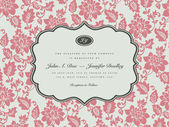 Vector Rose Background and Ornate Frame Easy to edit Perfect for invitations or announcements