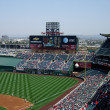 Sunny Day at Anaheim Stadium in Los Angeles, home ...