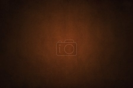 Foto de Brown background with fabric textile textured pattern - Imagen libre de derechos