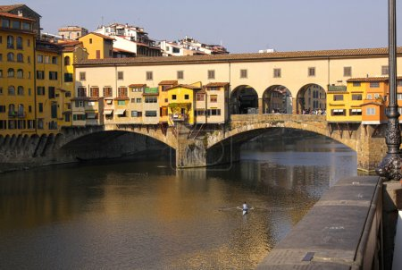 Ponte Vecchio and the Arno