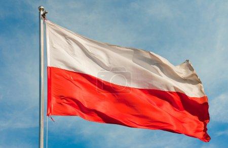 Flagge aus Polen
