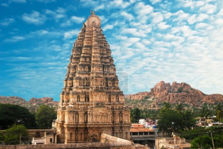 Photo for Temple in Hampi, Karnataka state, India - Royalty Free Image