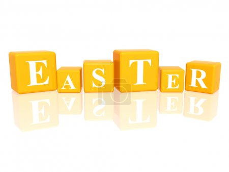 Easter in 3d cubes
