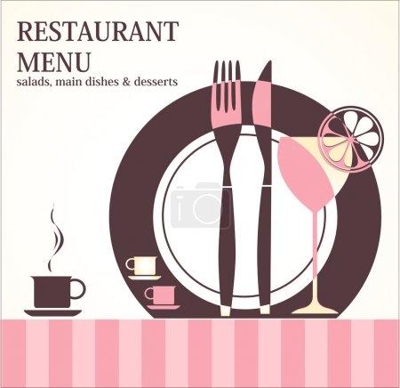 Photo for Restaurant menu design - Royalty Free Image