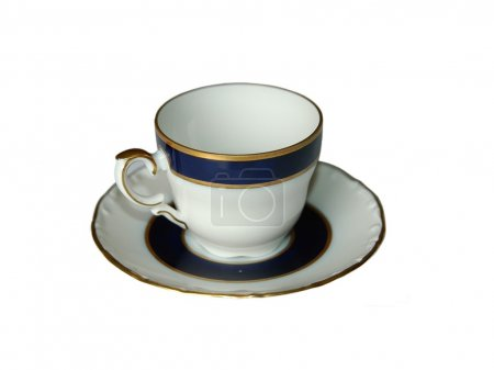 Photo for Empty coffee cup isolated - Royalty Free Image