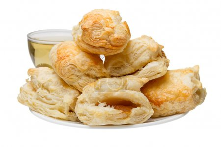 Puff pastries with jam