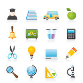 Bildung und Schule Symbole