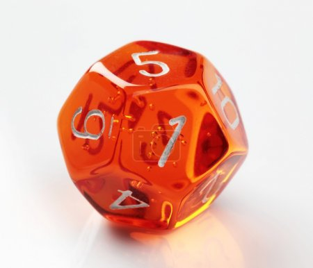 12-sided die