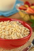 Puffasztott rizs gabona