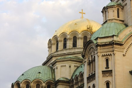 Detail of The St. Alexander Nevsky Cathedral