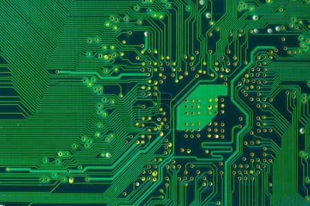 Photo for Printed circuit board - Royalty Free Image