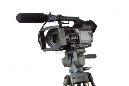 HD camcorder with microphone