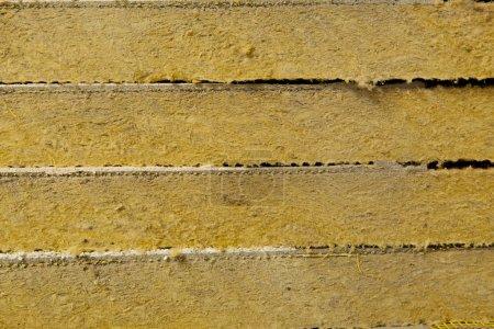 Foto de Textura de aislamiento térmico de lana mineral - Imagen libre de derechos