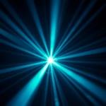 Blue disco lights background...