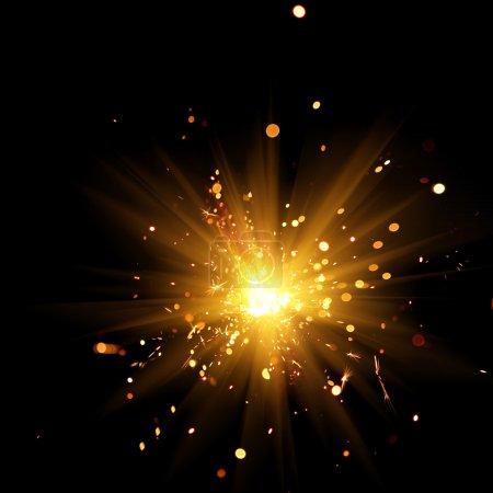 Gravure sparkler