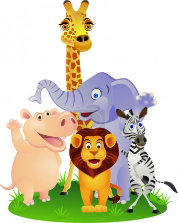 Illustration for Vector Illustration Of Animal Cartoon - Royalty Free Image