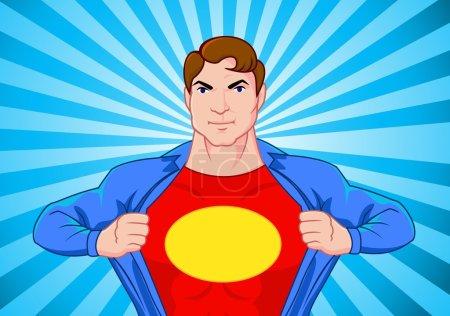 Superhero undercover