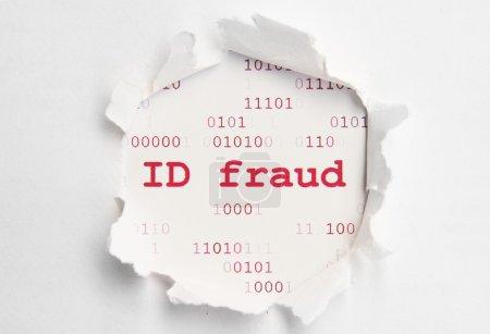 Photo pour Fraude ID - image libre de droit