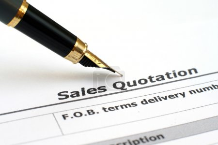 Sales quotation