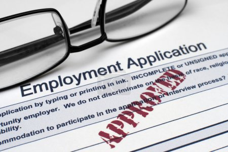 Photo for Employment application - Royalty Free Image