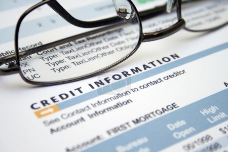 Credit information form