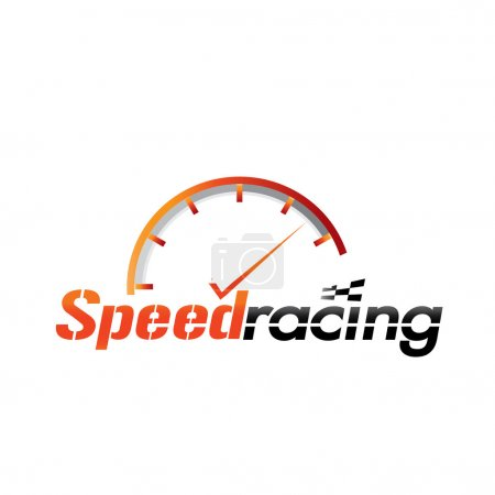 Speedometer and name for racing brands...