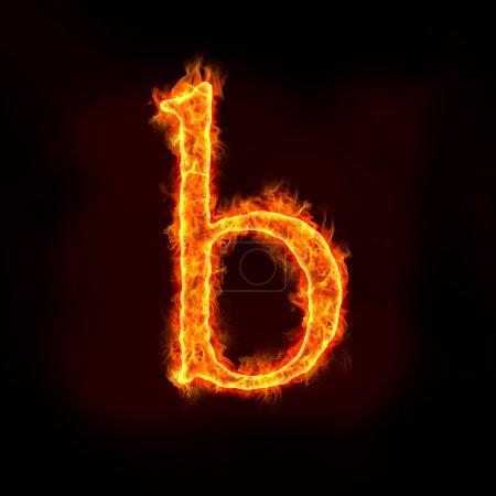 Alfabetos de fuego, letra b)