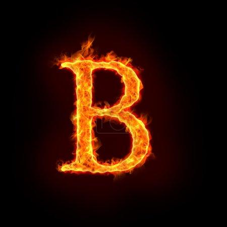 Alfabetos de fuego, B