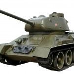 Soviet tank T-34-85 of the second world war. Isola...
