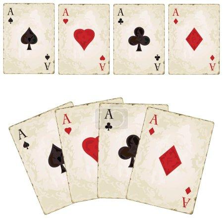 Vintage spades - poker