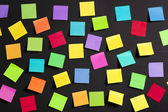 Colored paper notes