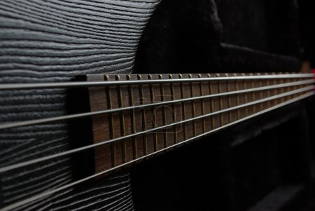 Bass guitar neck