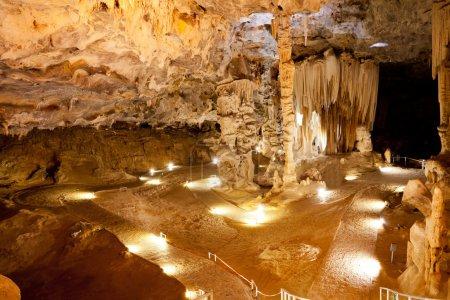 Photo pour Grottes de cango en Oudtshoorn, Afrique du Sud - image libre de droit
