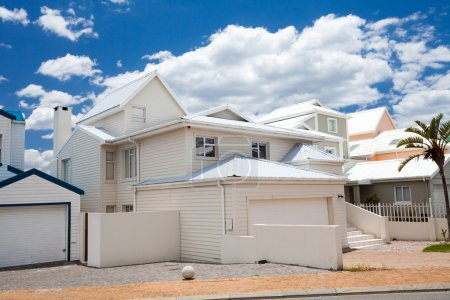 Photo for Beautiful modern beach houses - Royalty Free Image