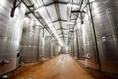 Modern wine factory