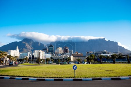 Cityscape of Cape Town
