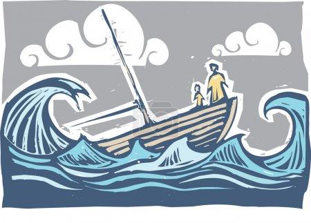 Sinking boat #3